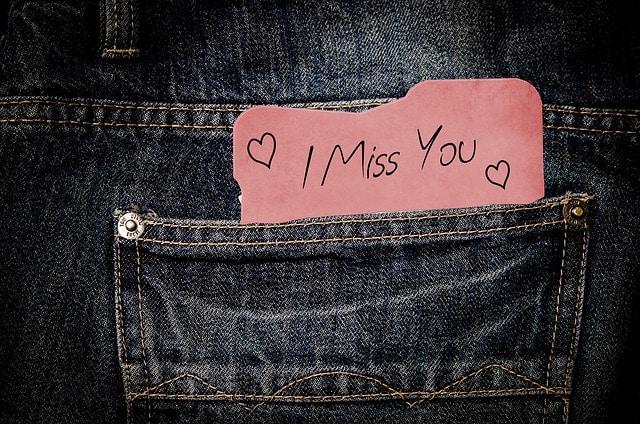 Wie schaffe ich es das er mich vermisst