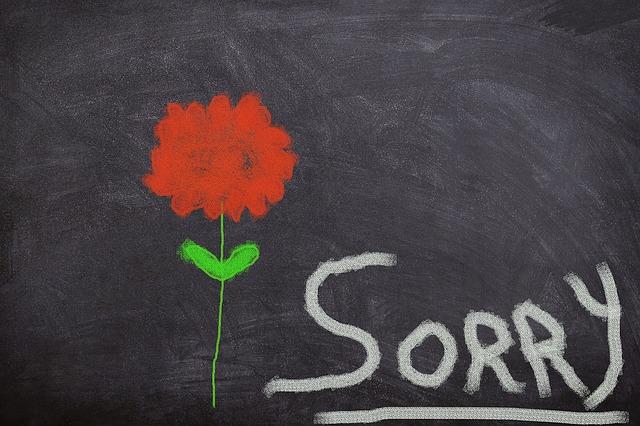 Dinge für die du dich niemals entschuldigen solltest