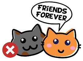 Gehe keine Freundschaft mit deinem oder deiner Ex ein