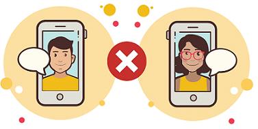 Halte nicht zu viel Kontakt zu deinem oder deiner Ex