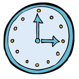 Bild einer Uhr